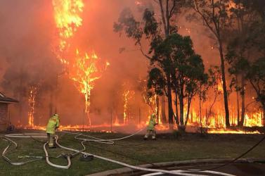 Mérgező füstfelhő borította be Canberrát is a bozóttüzek miatt