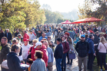 Rekordszámú látogató a csilizközi piacon