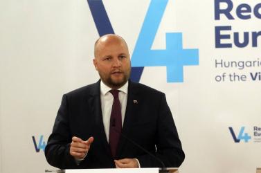 Magyarországon egyeztettek a V4-ek védelmi miniszterei és miniszterhelyettesei, köztükJaroslav Naď is