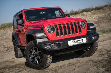 Nincs olyan terep, amely megállítaná az új Jeep Wrangler Rubicont