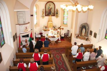 Szent István üzenete Csiliznyáradon