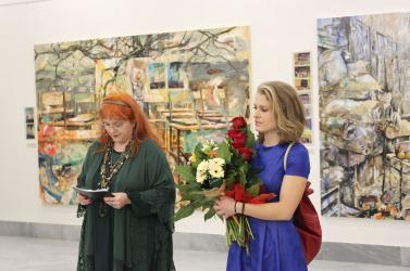 Kiss Márti fergeteges kiállítása a Csallóközi Múzeumban