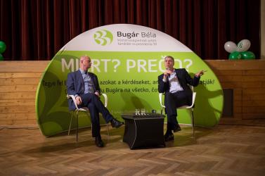 Bugár: ha nem lennék képviselő, jól behúznék egyet a DAC-drukkereket provokálóknak