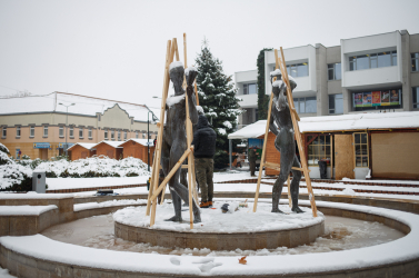 Nagyszombat megyeegész területére érvényes a meteorológusok figyelmeztetése a havazás miatt