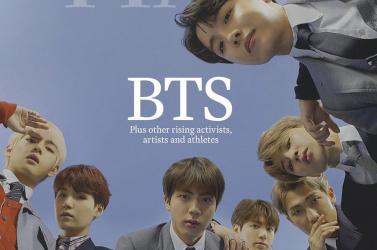 A BTS dél-koreai fiúbanda az év előadója a Time magazin szerint