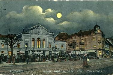 A 111 éves Régi vásárcsarnokról és a pozsonyi piacozás múltjáról nyílik kiállítás