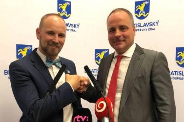Pozsony megye és Nagyszombat megye együttműködési megállapodást írt alá
