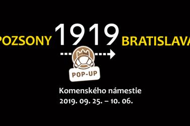 Kültéri kiállítással emlékezik meg a Pozsonyi Kifli  a városban történt 1919-es eseményekről