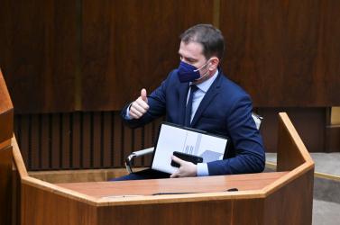 Két rendkívüli parlamenti ülés is lesz ma, az ellenzék tesz egy próbát Matovič menesztésére