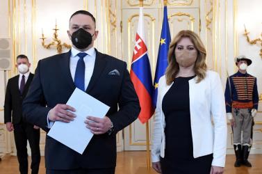 Čaputová: A SIS új igazgatójának feladata, hogy megerősítse a nyilvánosság és a külföldi partnerek bizalmát