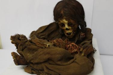 Inka kislány 500 éves múmiáját kapta vissza Bolívia - FOTÓK