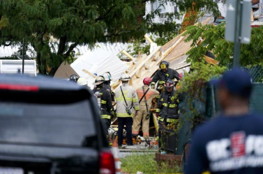 Összeomlott egy épülőfélben lévő ház Washingtonban, több munkás megsérült