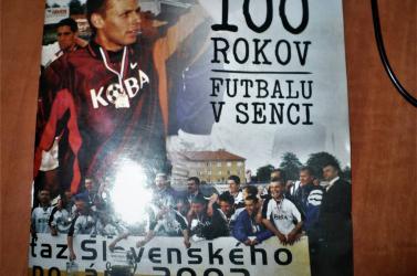A szenci foci 100 éve