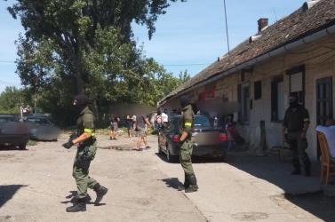 Akcióban a kommandósok: drogot kerestek (FOTÓK)