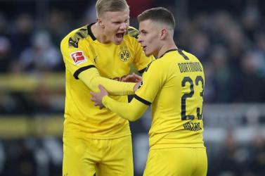 A Dortmund nyerte a Mönchengladbach elleni rangadót