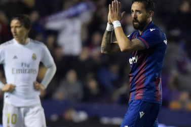 Kikapott a Levantétól a Real Madrid