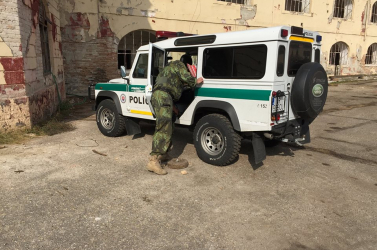 Működőképes bombát találtak Komáromban