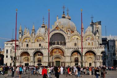 Háromeurós belépődíjat vezetnek be a velencei Szent Márk-székesegyházban