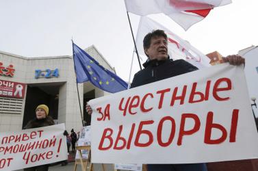 Megkezdődött a parlamenti választás Fehéroroszországban