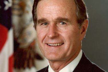 Az amerikai kongresszus kupolatermében vesznek búcsút George H. W. Bushtól
