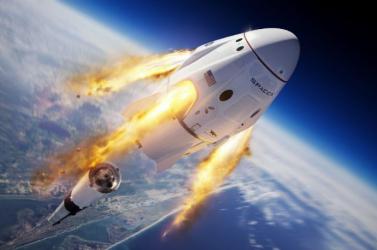Megérkezett az űrállomásra a SpaceX első üzemszerű missziója
