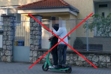 650 euróig terjedő bírság fenyegeti az e-rollerezőket, ha nem tartják be a szabályokat