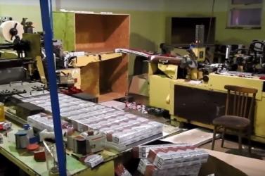 RAZZIA: Több millió illegális cigarettát találtak Dióspatonyban (videó)