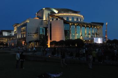 Tűz miatt kiürítették a budapesti Nemzeti Színházat