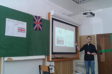 Az angol nyelv napját ünnepelték a szakközépiskolások