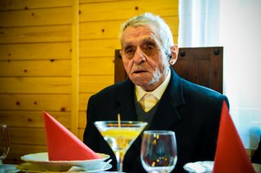Boldog 105. születésnapot, Rudi bácsi!