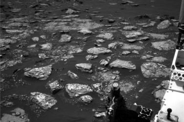 A Curiosity közeli képet küldött a Marsról