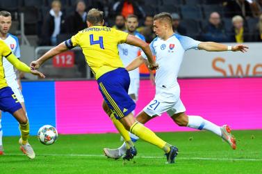Barátságos mérkőzések: Szlovákia döntetlenezett Svédországgal, Šatka is lehetőséget kapott