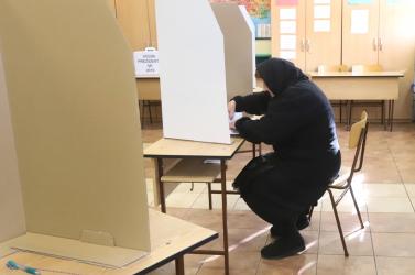 Galántán sem tolongtak az emberek a szavazóhelyiségekben
