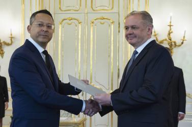 Ladislav Kamenický a kormány új pénzügyminisztere