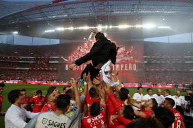 A Benfica nyerte a portugál futballbajnokságot