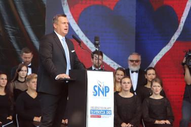 Danko ünnepi beszédében összekapcsolta a fasizmust és a liberalizmust