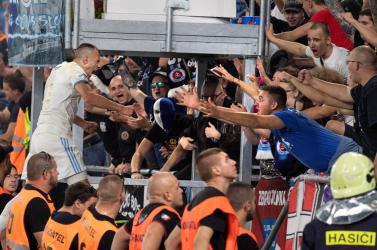 """""""A játékosainkat védtük"""" – így reagált az Ultras Slovan a Spartak elleni szurkolói incidensre"""