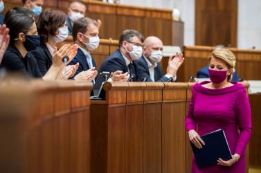 Čaputová úgy visszadobta az ügyészségi törvényt, hogy az az alkotmánybíróságon köthet ki