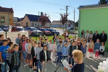 15 kis elsőssel kezdte meg a tanévet az egyházkarcsai alapiskola