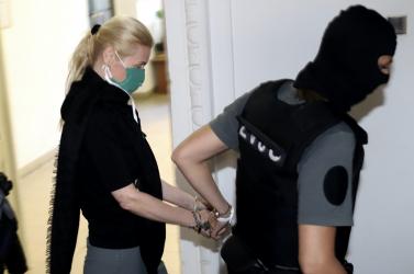 Jankovská márciusig letartóztatásban marad, Cvikovát szabadon engedték