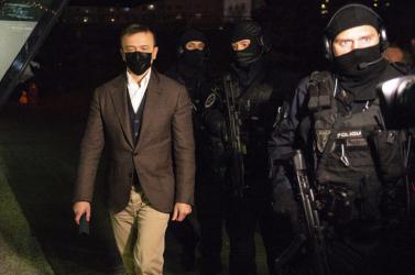 A rács mögé rakottkőgazdagHaščák cseh ügyvéddel erősített,indokolatlannak tartják a fogságot