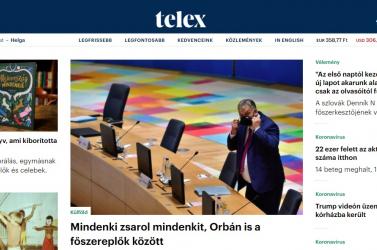 Elindult a távozó indexesek új lapja, a Telex - a propagandasajtó szerint