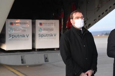 Marek Krajčí nem arra a Szputnyikra adott miniszteri engedélyt, amely Szlovákiába érkezett