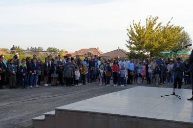 Közel 750 tanulóval a dunaszerdahelyi Szabó Gyula Alapiskola is megnyitotta kapuit