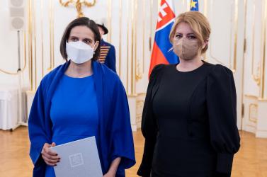 Az államfő elfogadta Kolíková lemondását, ideiglenesen Remišová veszi át az igazságügyi tárcát
