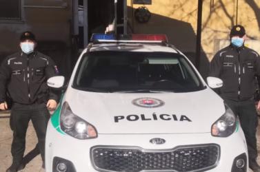 Gútai rendőrök találták meg egy nehéz élethelyzetbe került eltűnt férfit