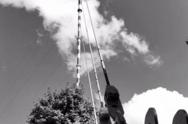 Életét vesztette egy munkás az adótornyon, 250 méteres magasságban találták meg a holttestét