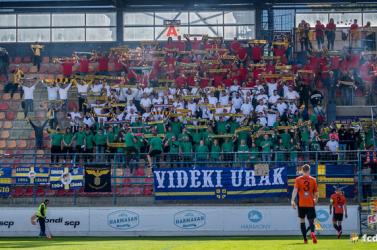 Ružomberok-DAC: Óriási magyar zászlóvá változott a vendégszektor