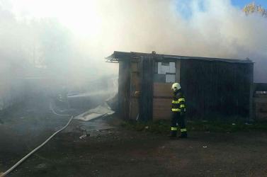 Tragikus tűzeset: kigyulladt egy viskó, két gyerek életét vesztette