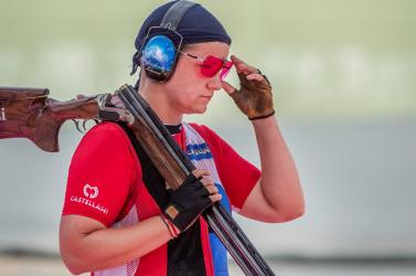 Tokió 2020: A sportlövő Zuzana Rehák-Štefečeková világrekorddal jutott döntőbe